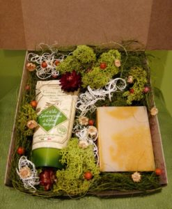 olíva kézkrém csomag